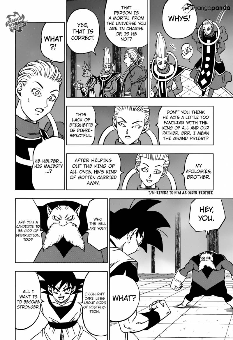 Dragon Ball Super Chapter 29  Online Free Manga Read Image 22