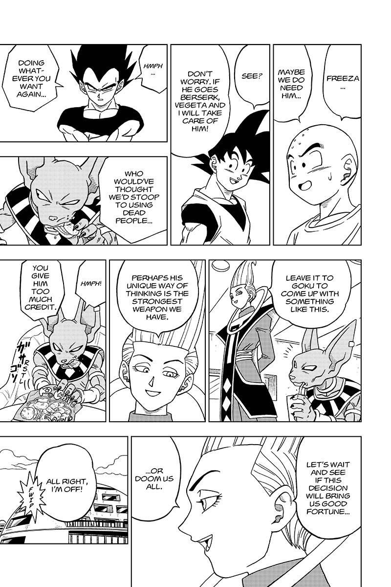 Dragon Ball Super Chapter 32  Online Free Manga Read Image 29