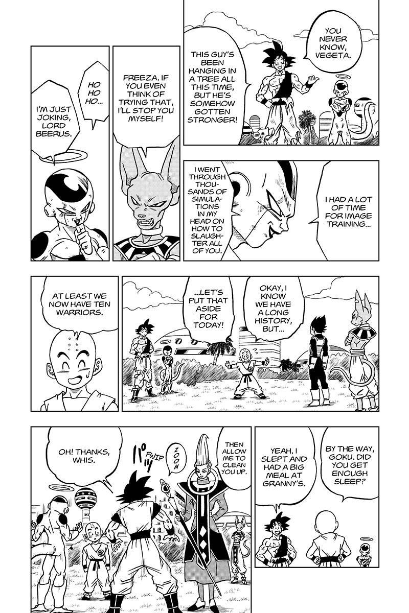 Dragon Ball Super Chapter 32  Online Free Manga Read Image 40