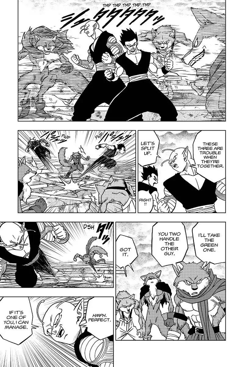 Dragon Ball Super Chapter 34  Online Free Manga Read Image 35