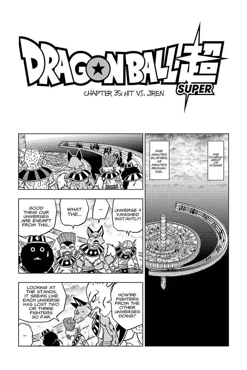 Dragon Ball Super Chapter 35  Online Free Manga Read Image 1