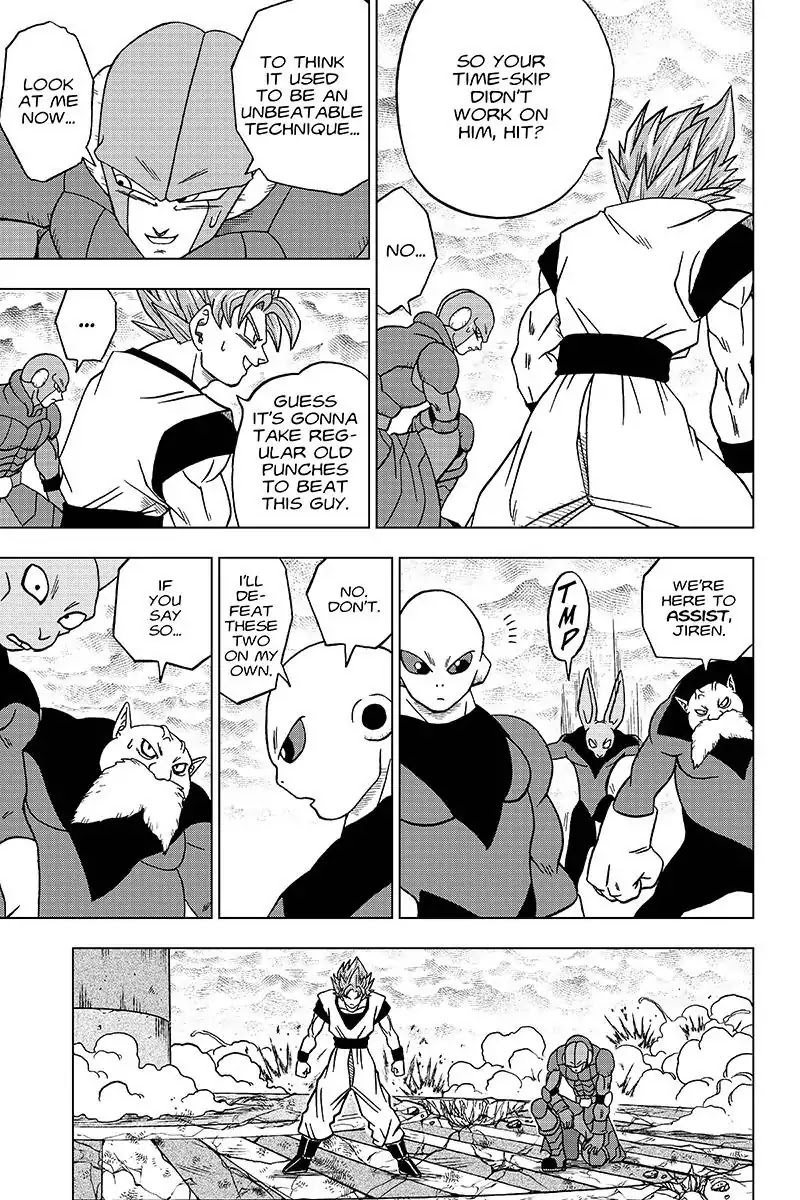 Dragon Ball Super Chapter 35  Online Free Manga Read Image 13