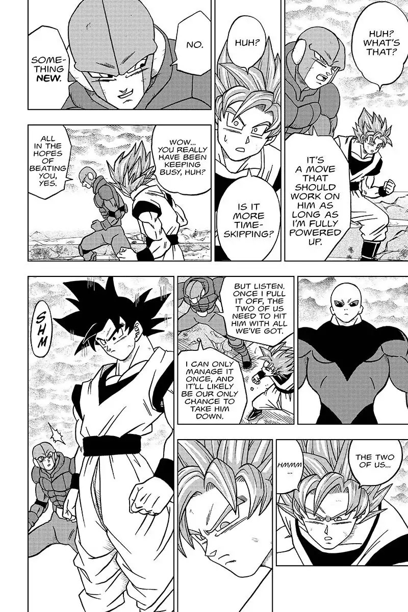 Dragon Ball Super Chapter 35  Online Free Manga Read Image 32