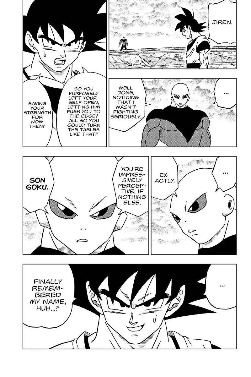 Dragon Ball Super Chapter 35  Online Free Manga Read Image 45