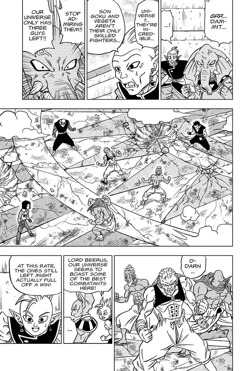 Dragon Ball Super Chapter 36  Online Free Manga Read Image 15