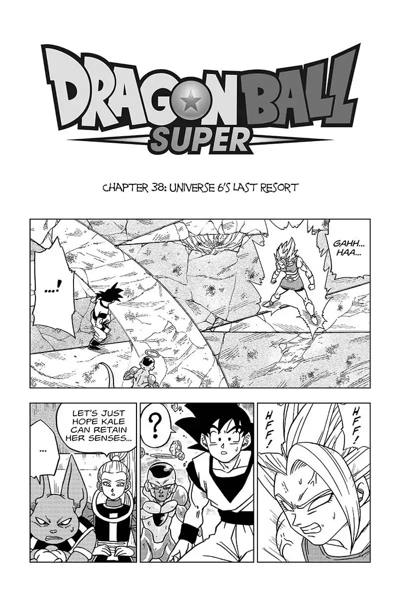 Dragon Ball Super Chapter 38  Online Free Manga Read Image 1