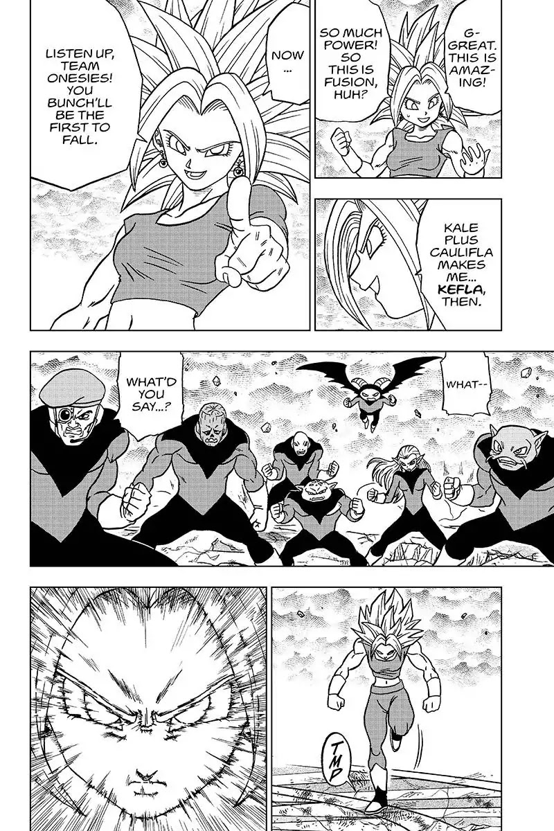Dragon Ball Super Chapter 38  Online Free Manga Read Image 38