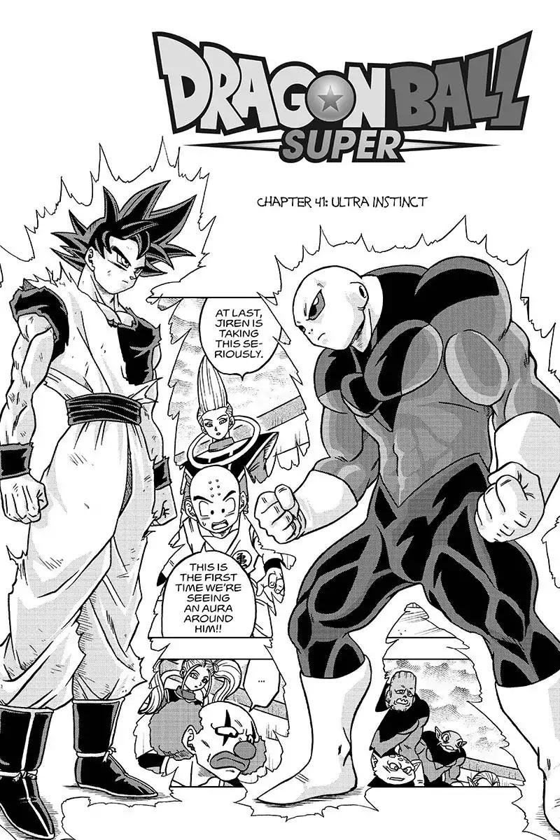 Dragon Ball Super Chapter 41  Online Free Manga Read Image 1