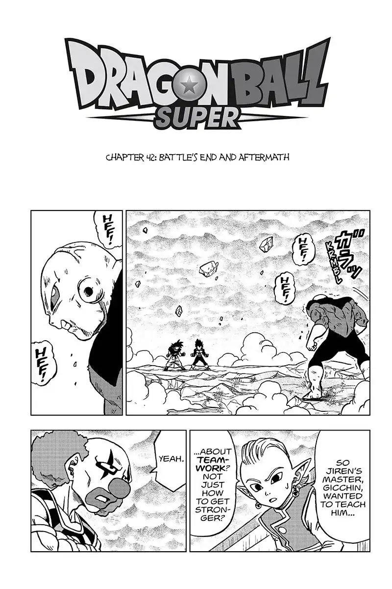 Dragon Ball Super Chapter 42  Online Free Manga Read Image 1