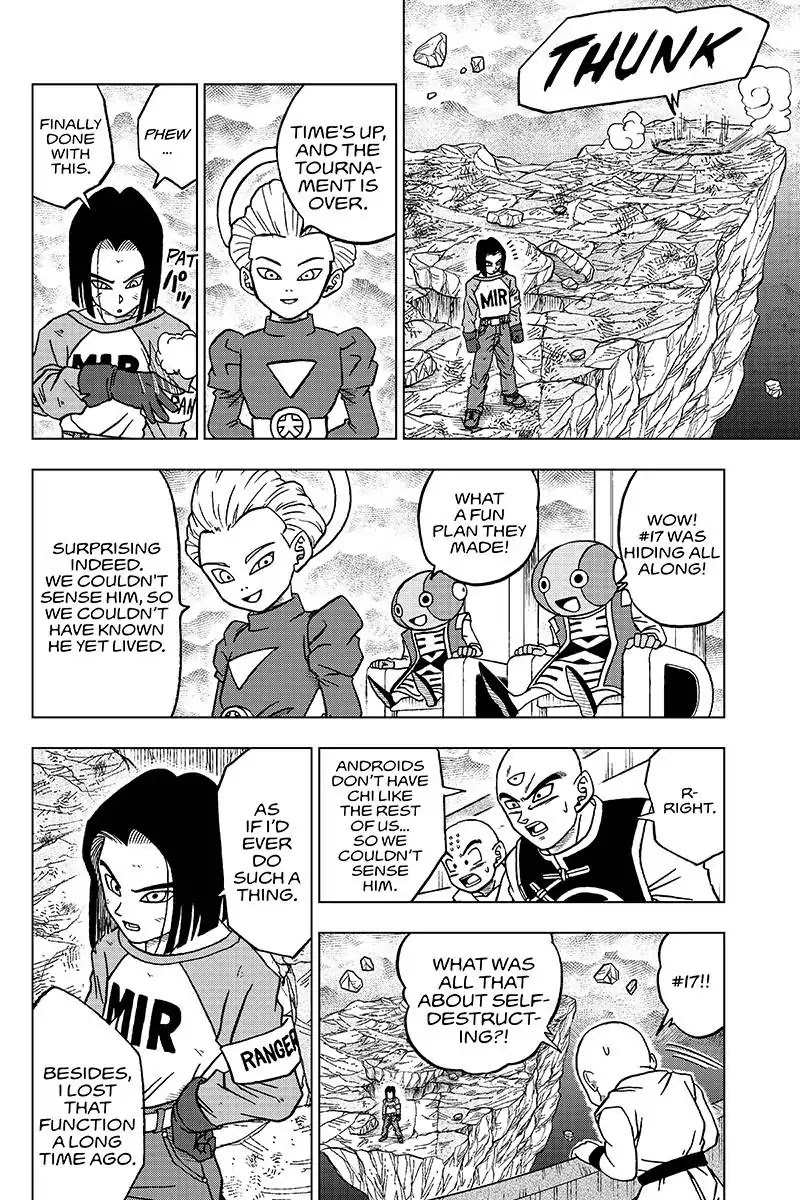 Dragon Ball Super Chapter 42  Online Free Manga Read Image 24