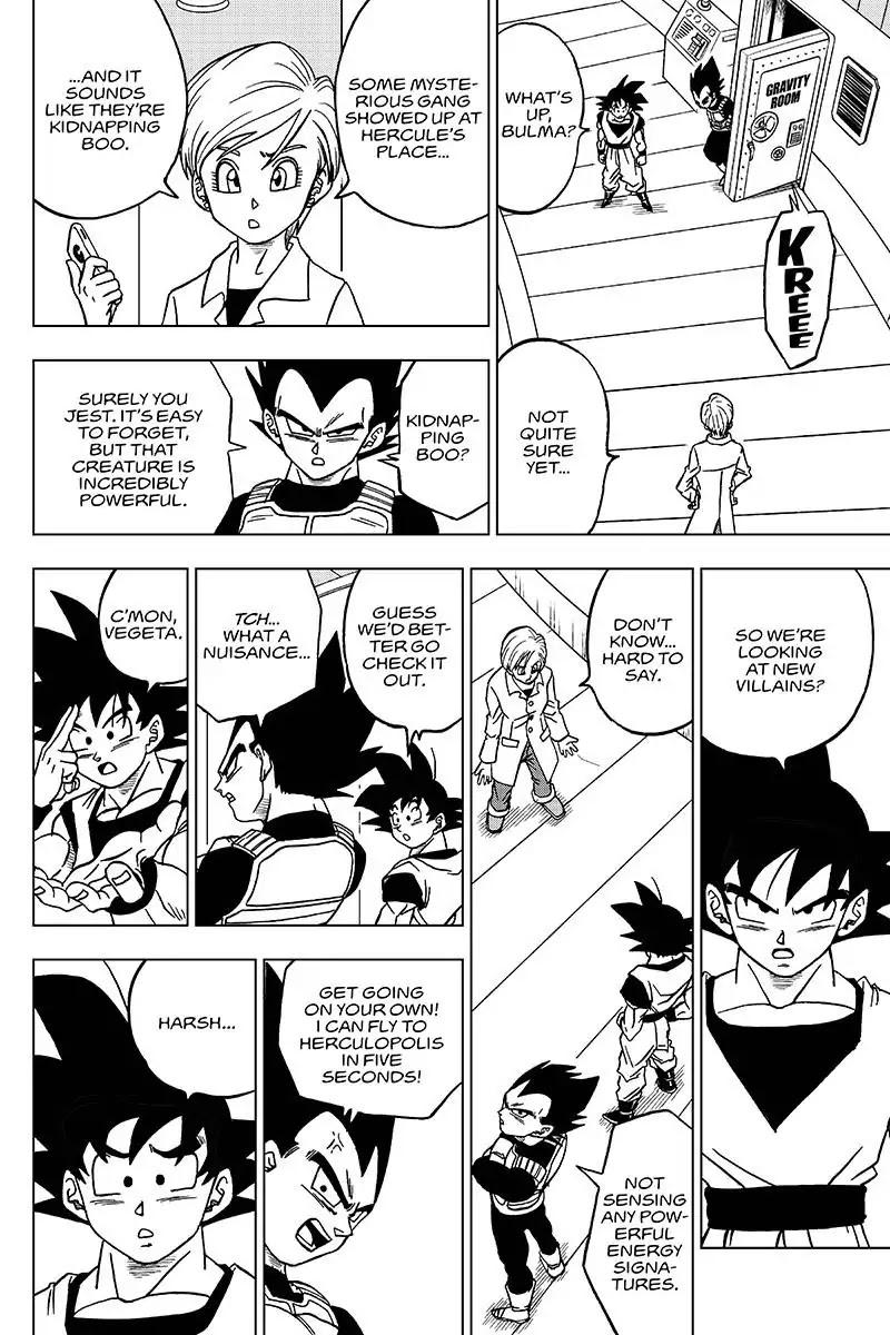 Dragon Ball Super Chapter 42  Online Free Manga Read Image 36