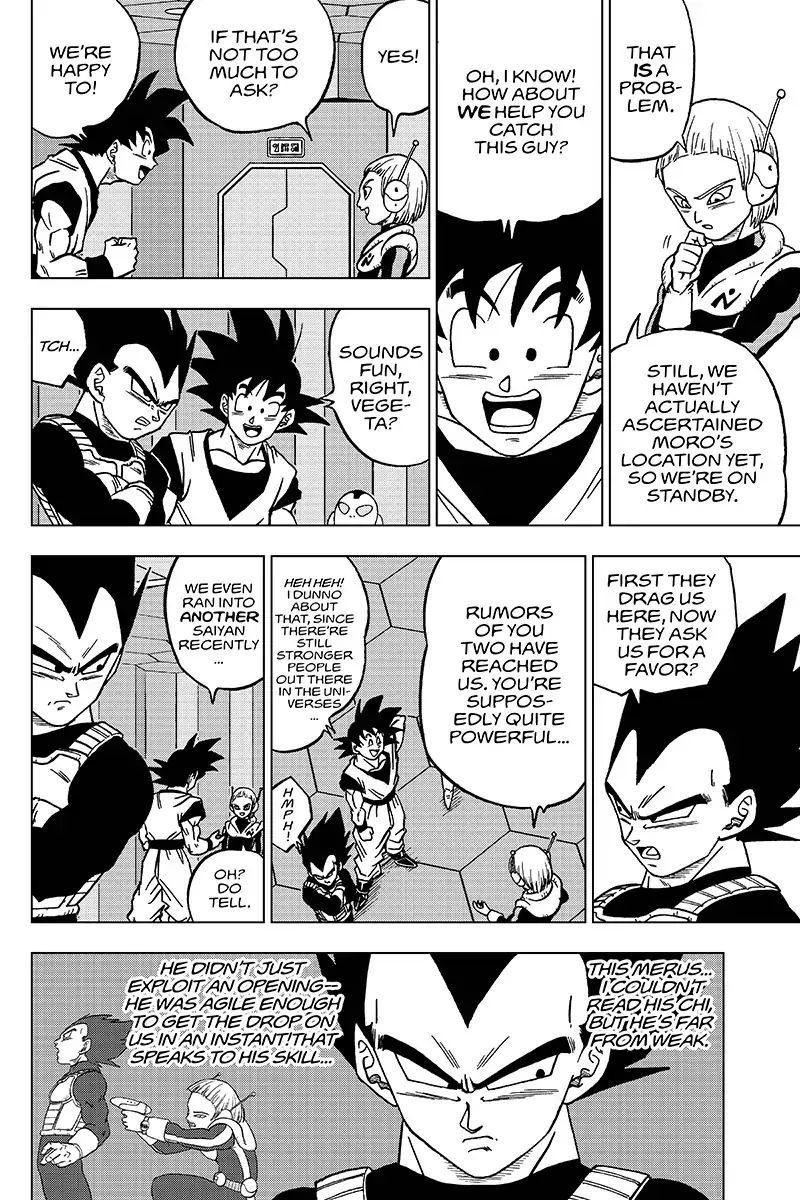 Dragon Ball Super Chapter 43  Online Free Manga Read Image 18