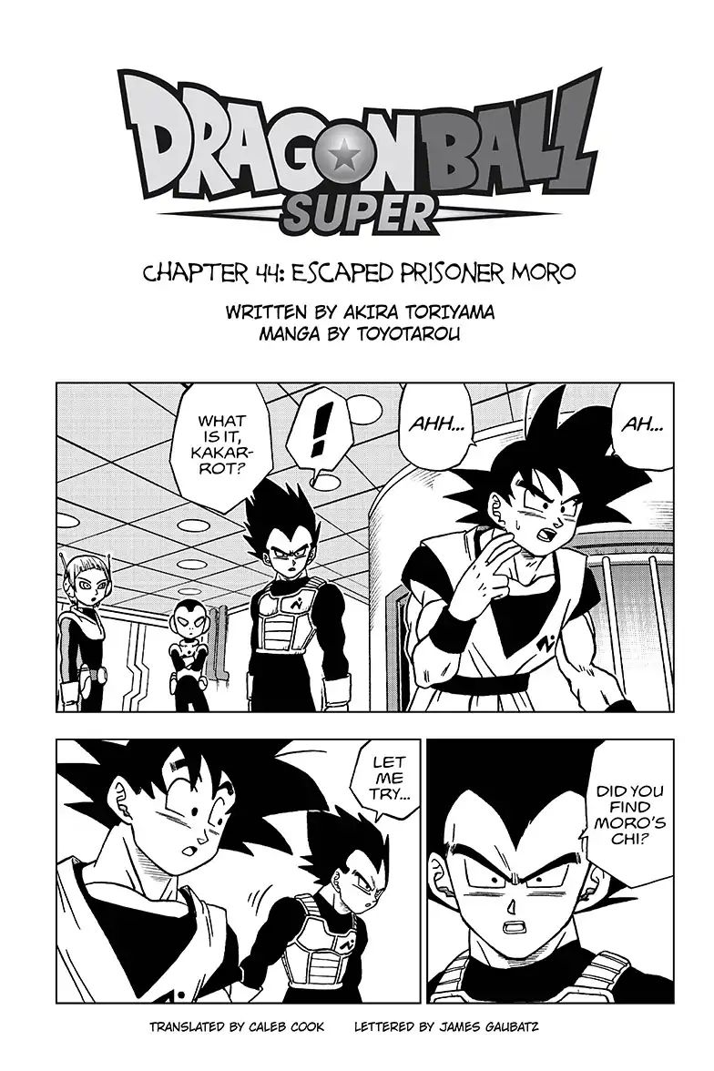 Dragon Ball Super Chapter 44  Online Free Manga Read Image 1