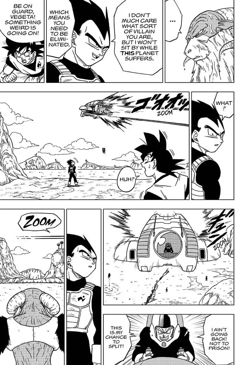 Dragon Ball Super Chapter 45  Online Free Manga Read Image 33
