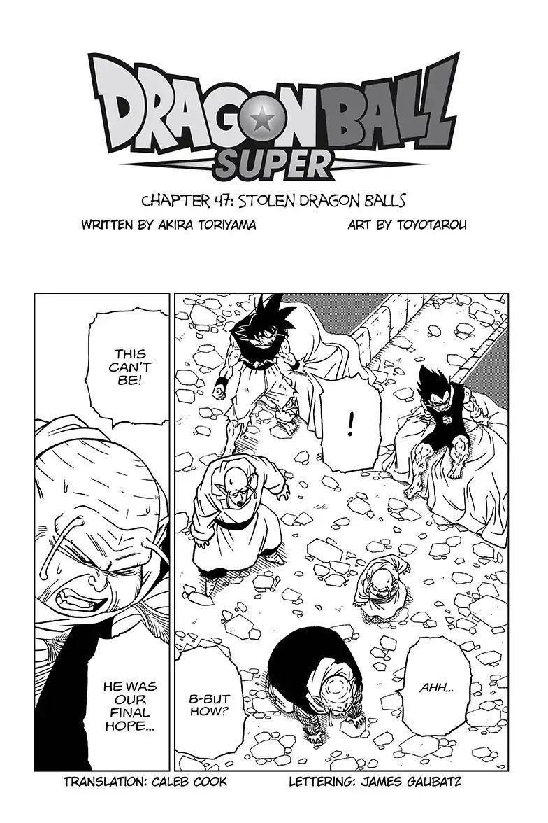 Dragon Ball Super Chapter 47  Online Free Manga Read Image 1