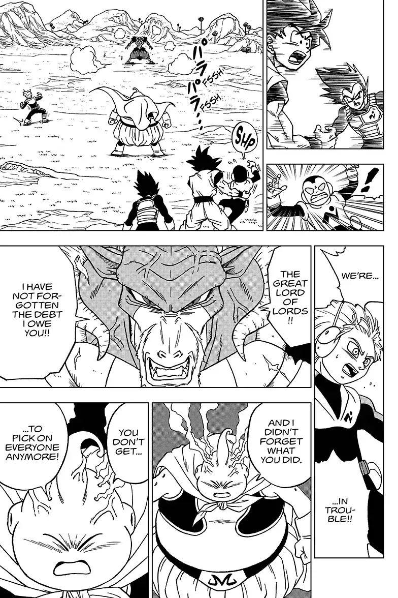 Dragon Ball Super Chapter 47  Online Free Manga Read Image 35