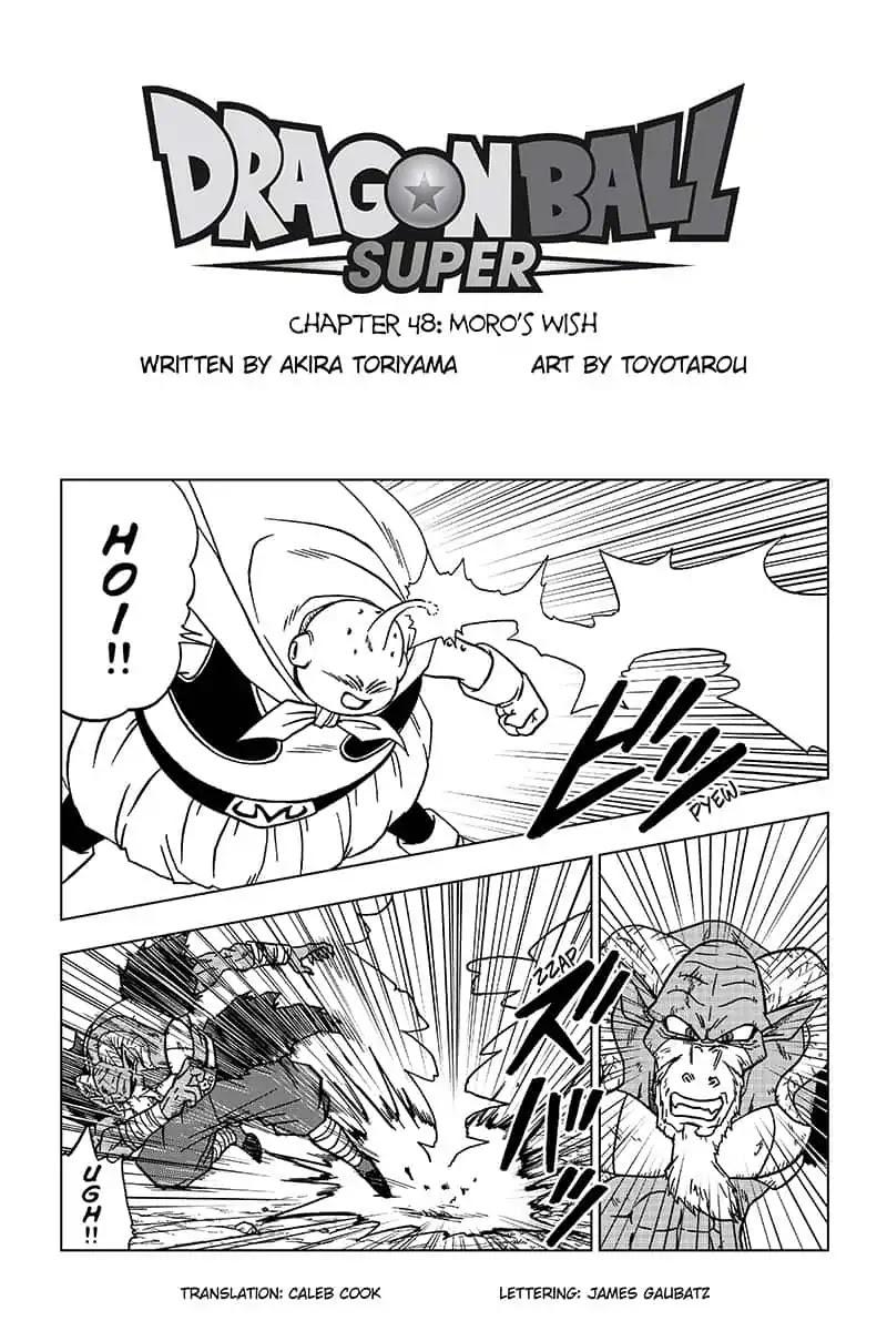 Dragon Ball Super Chapter 48  Online Free Manga Read Image 1