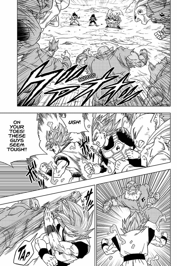 Dragon Ball Super Chapter 50  Online Free Manga Read Image 21