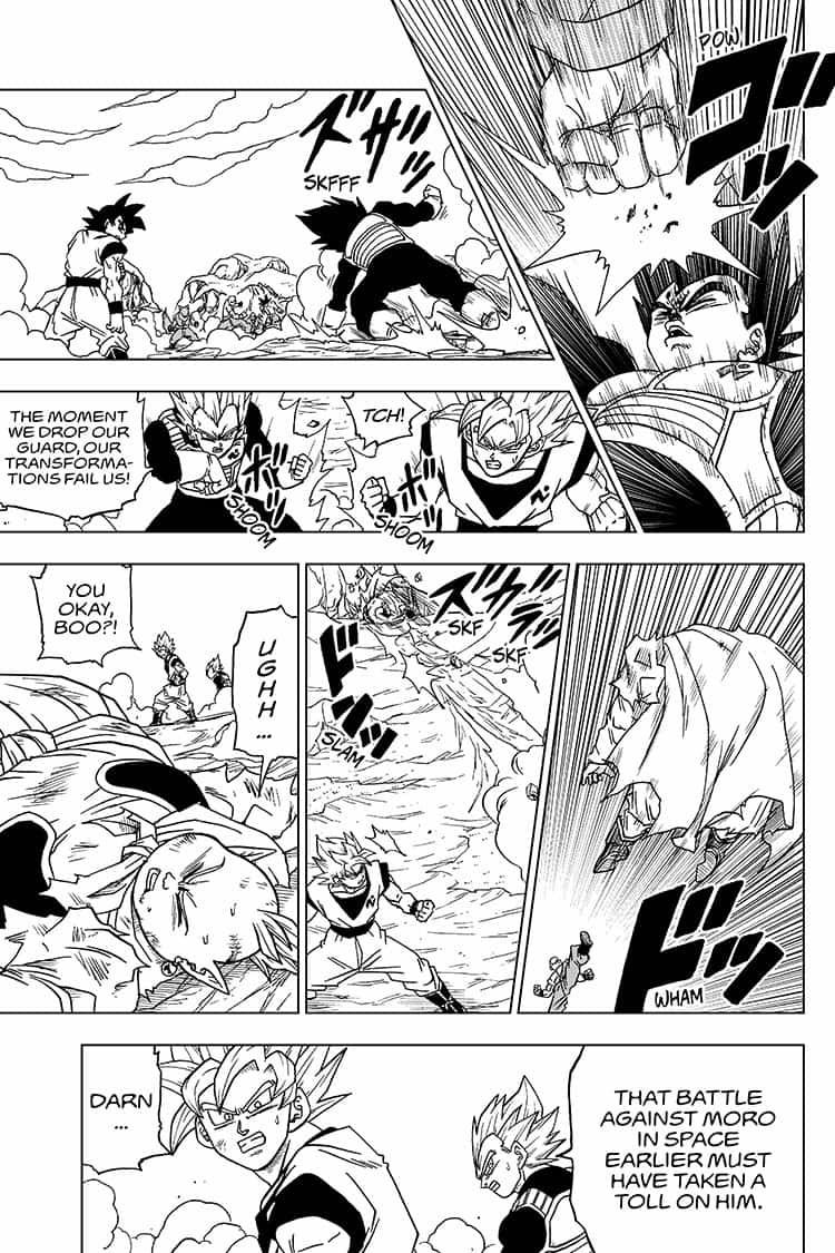 Dragon Ball Super Chapter 50  Online Free Manga Read Image 29