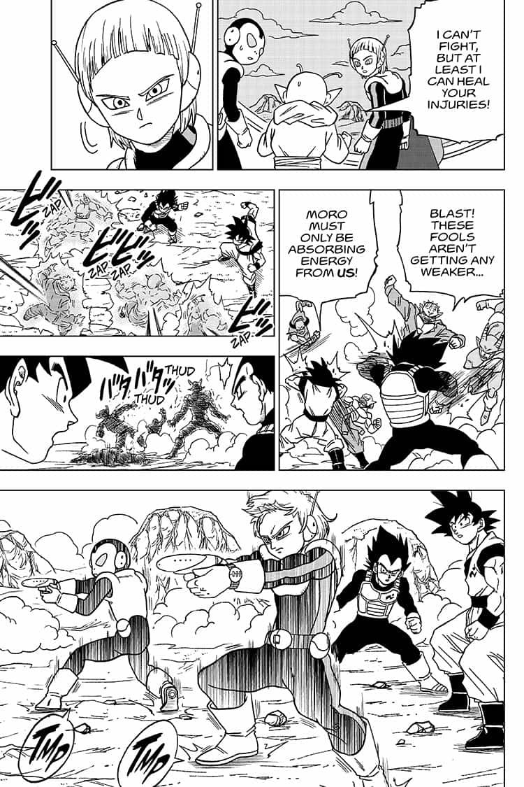 Dragon Ball Super Chapter 50  Online Free Manga Read Image 33