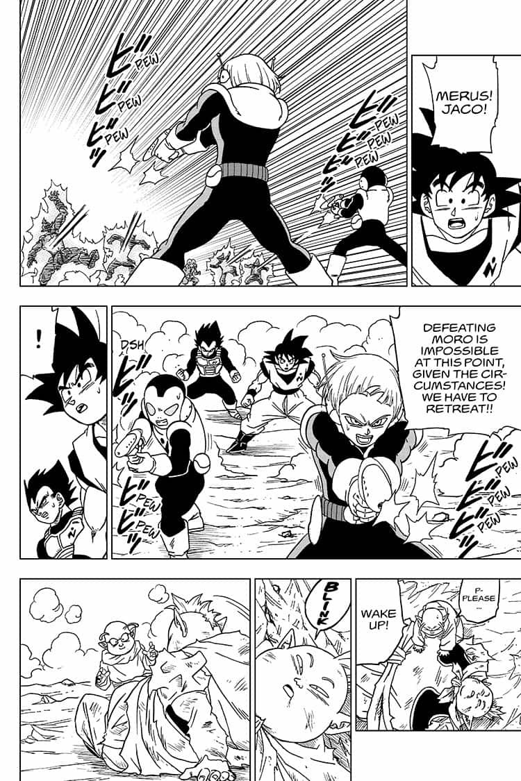 Dragon Ball Super Chapter 50  Online Free Manga Read Image 34
