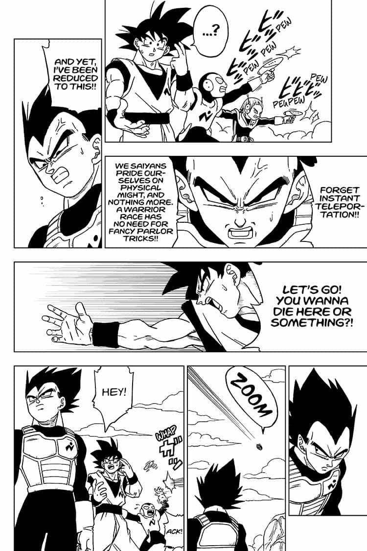 Dragon Ball Super Chapter 50  Online Free Manga Read Image 38