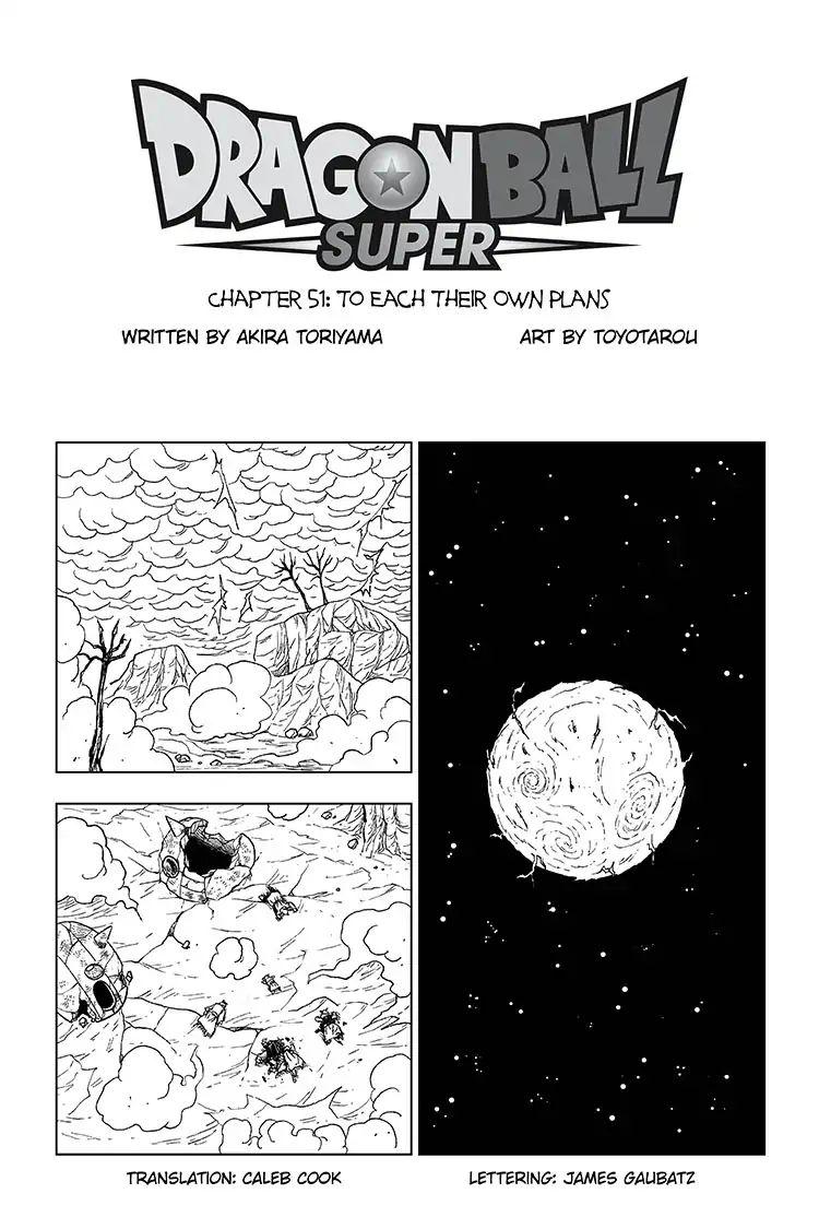 Dragon Ball Super Chapter 51  Online Free Manga Read Image 1