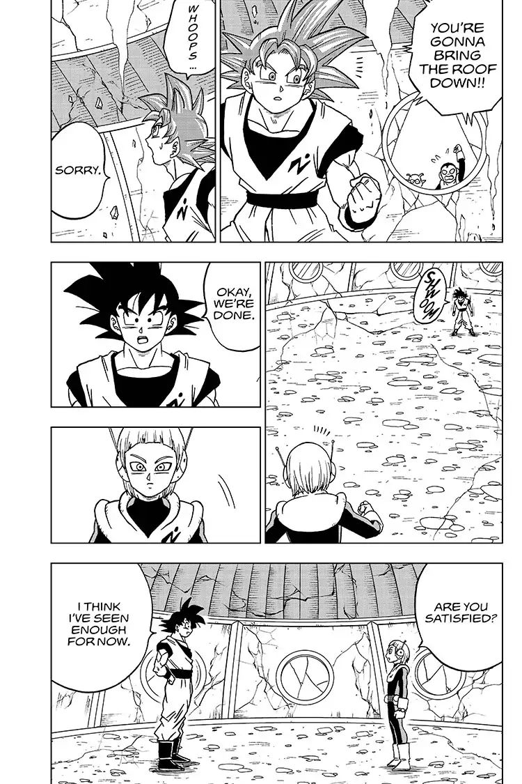 Dragon Ball Super Chapter 51  Online Free Manga Read Image 39