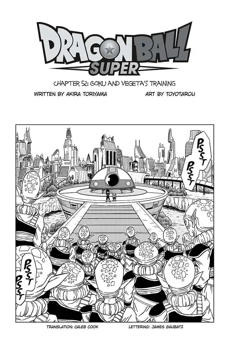 Dragon Ball Super Chapter 52  Online Free Manga Read Image 1