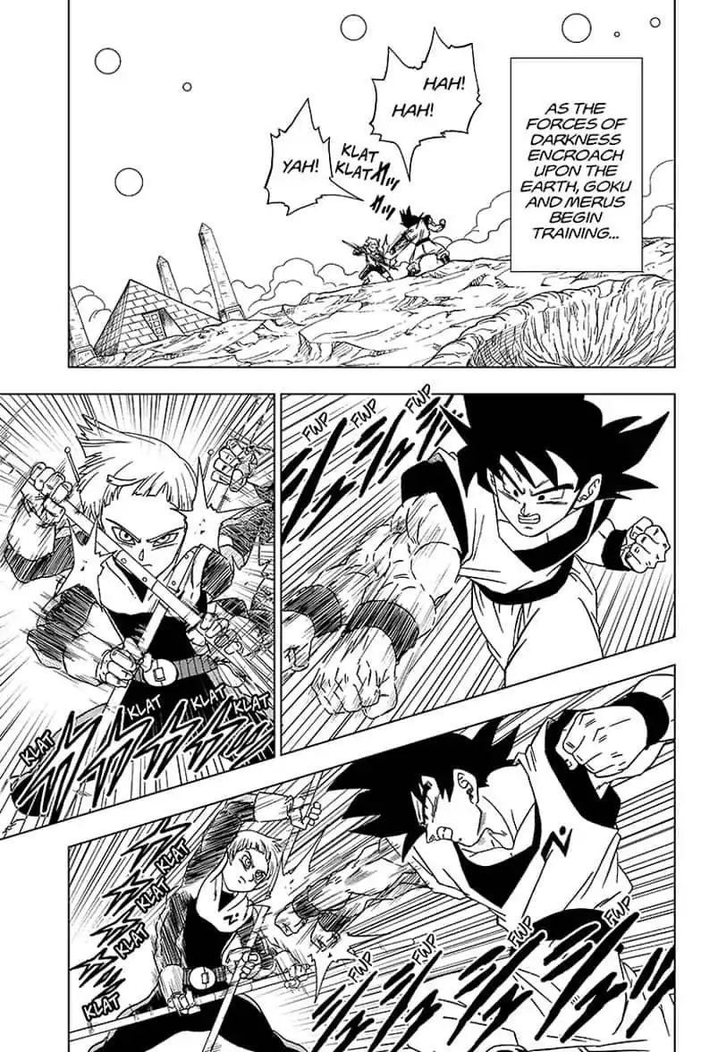 Dragon Ball Super Chapter 52  Online Free Manga Read Image 37