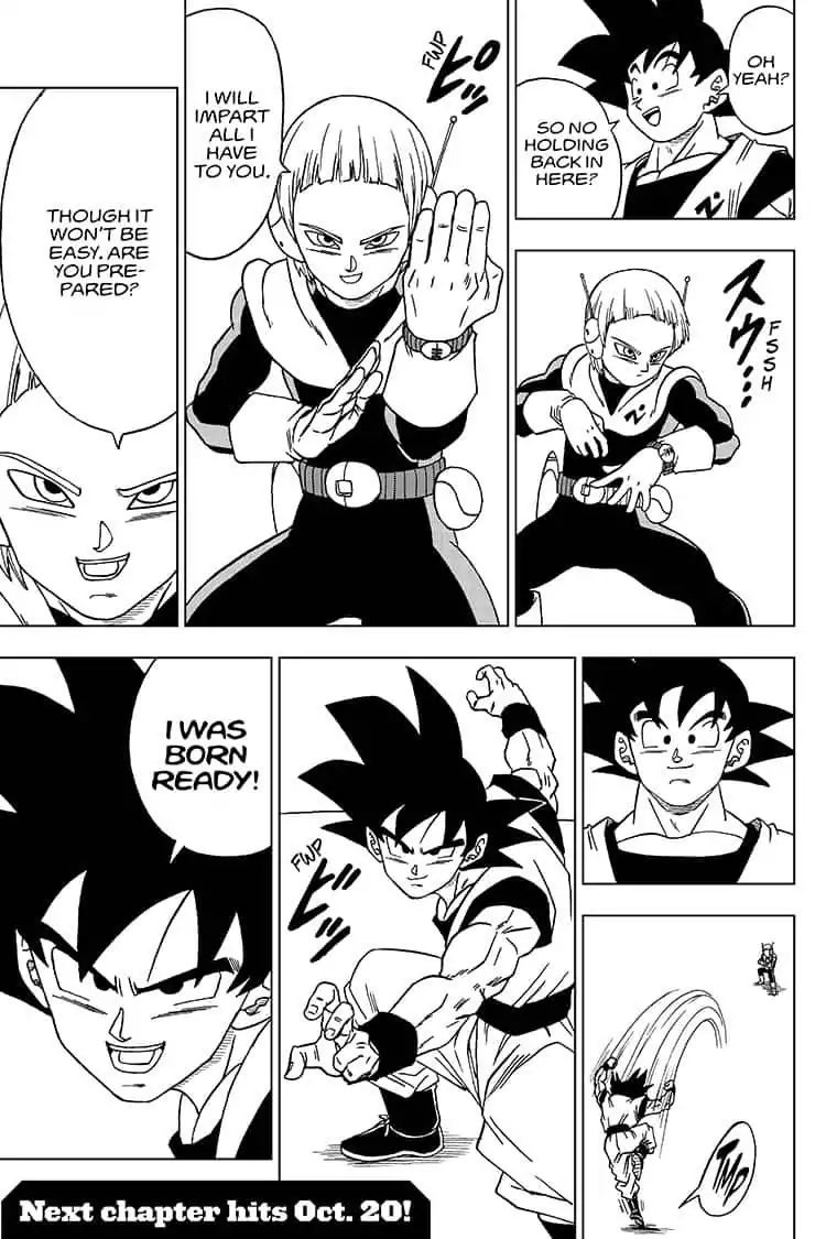 Dragon Ball Super Chapter 52  Online Free Manga Read Image 45