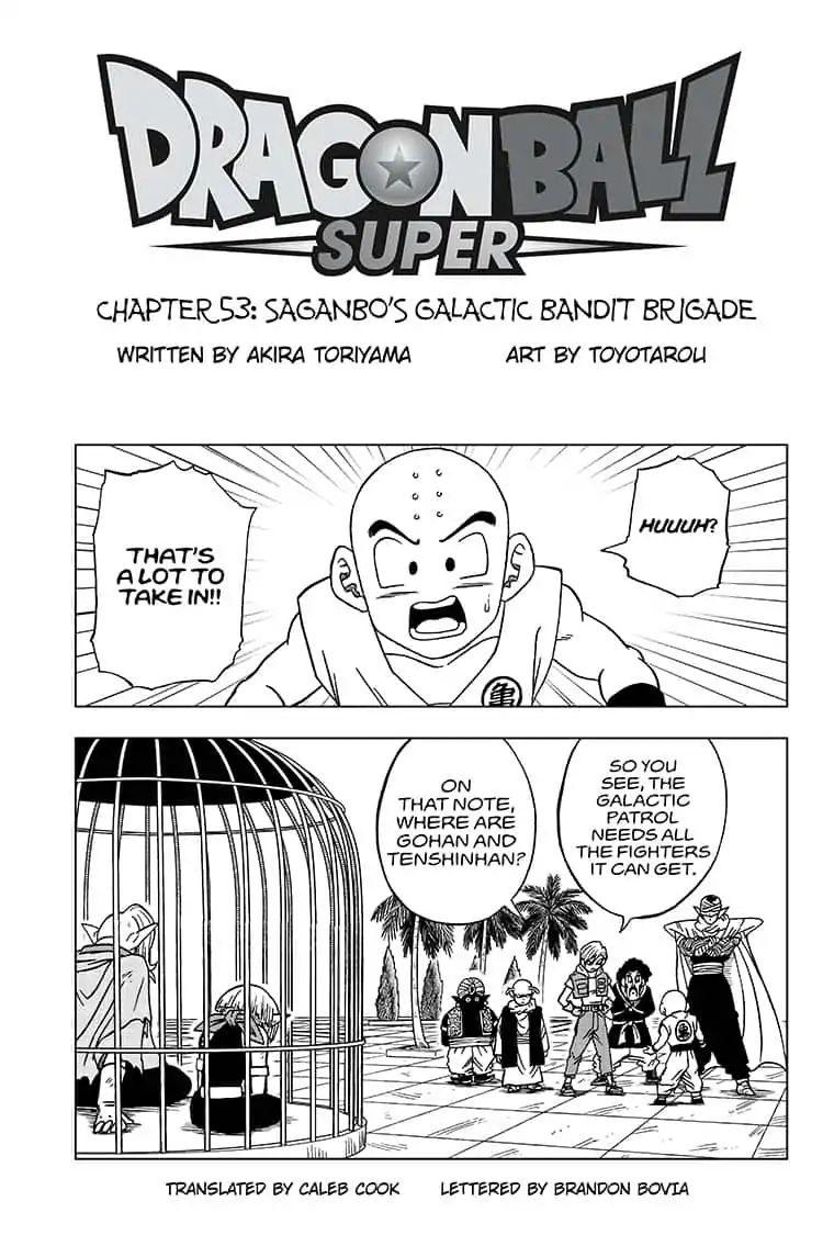 Dragon Ball Super Chapter 53  Online Free Manga Read Image 1