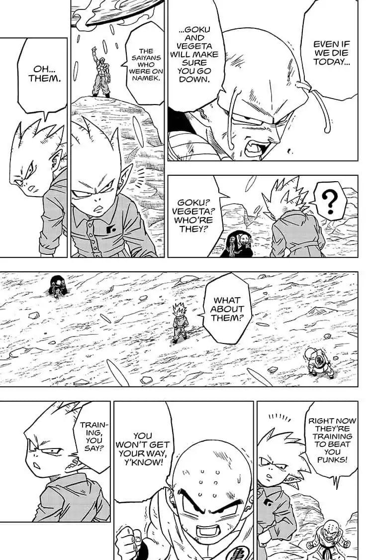 Dragon Ball Super Chapter 54  Online Free Manga Read Image 33