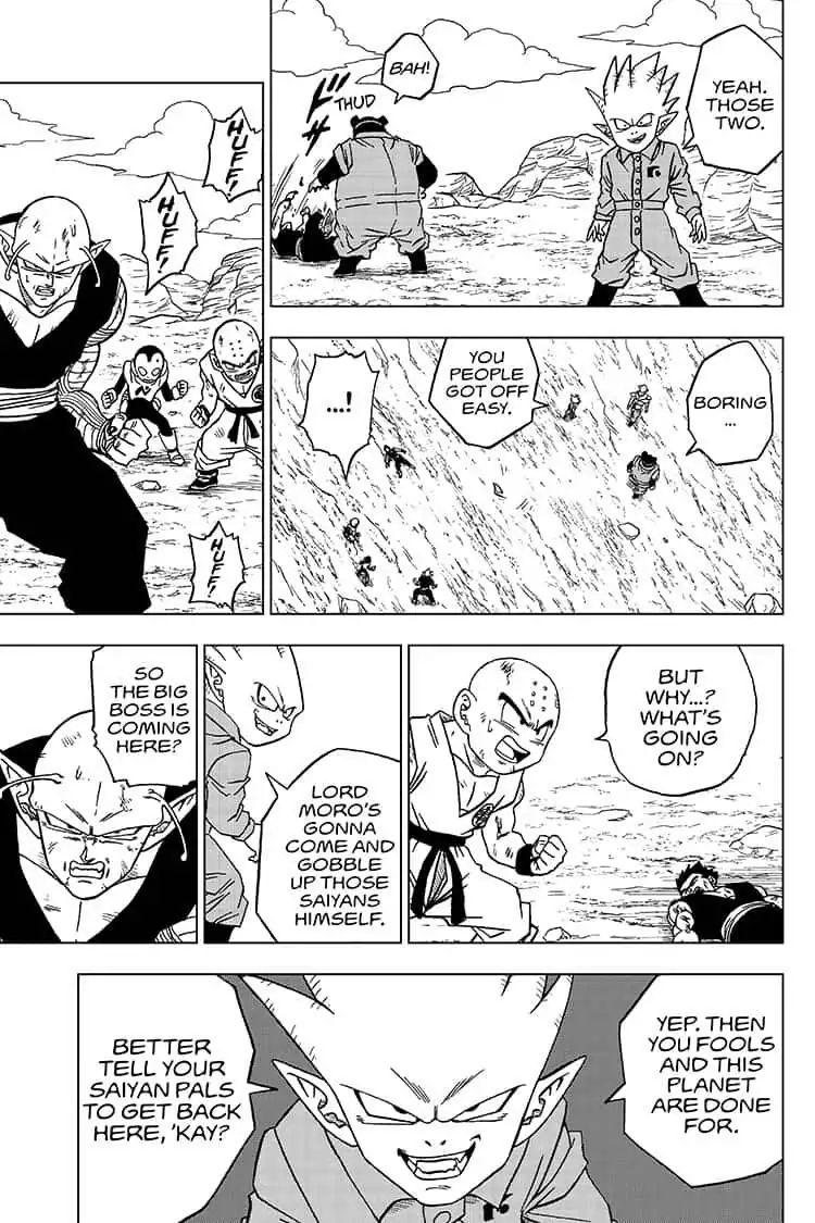 Dragon Ball Super Chapter 54  Online Free Manga Read Image 37