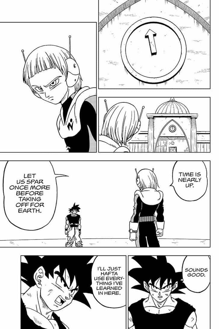 Dragon Ball Super Chapter 55  Online Free Manga Read Image 37