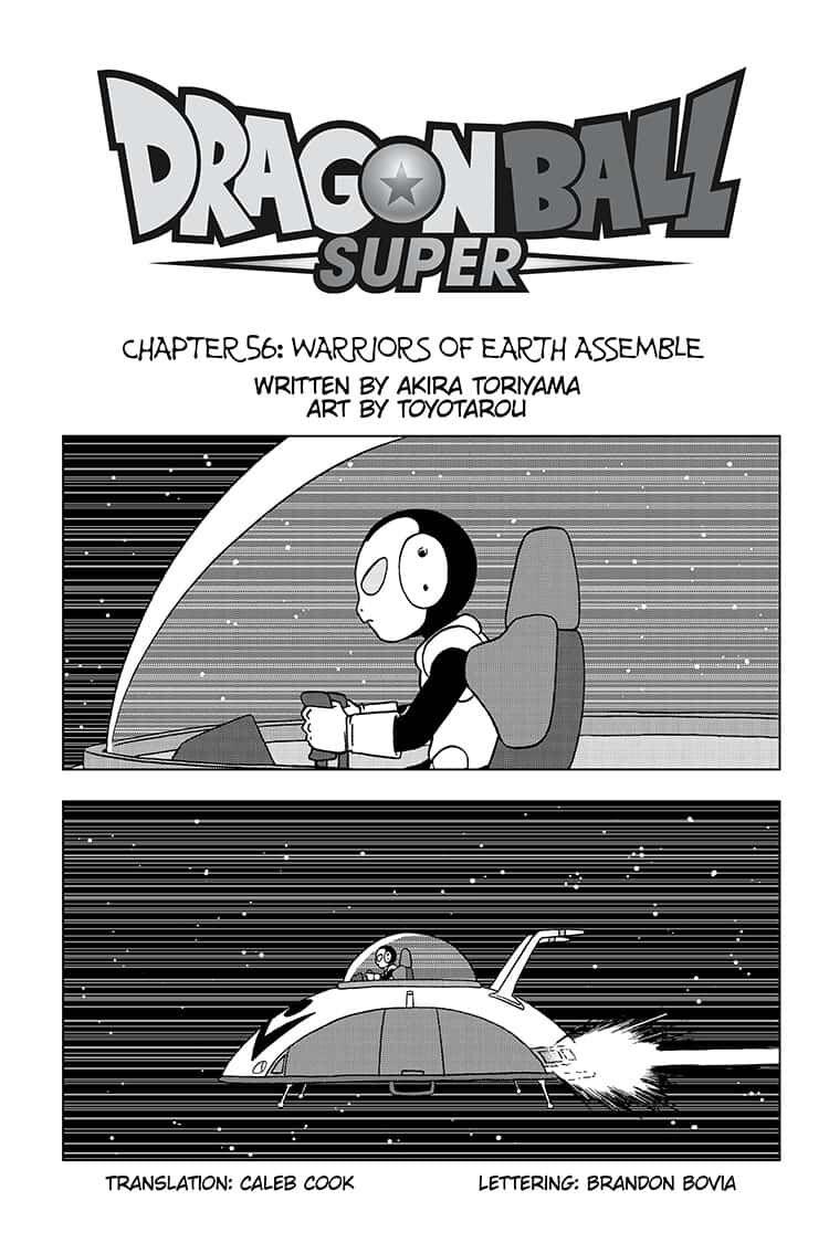 Dragon Ball Super Chapter 56  Online Free Manga Read Image 1