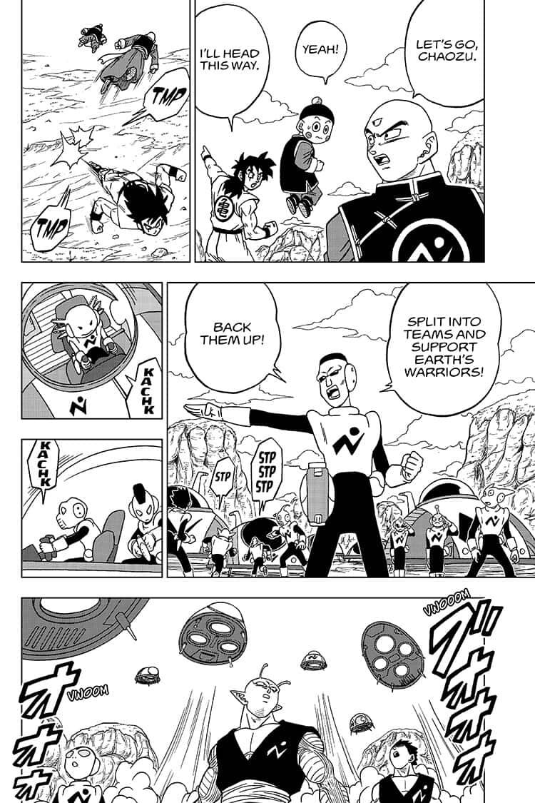 Dragon Ball Super Chapter 56  Online Free Manga Read Image 12
