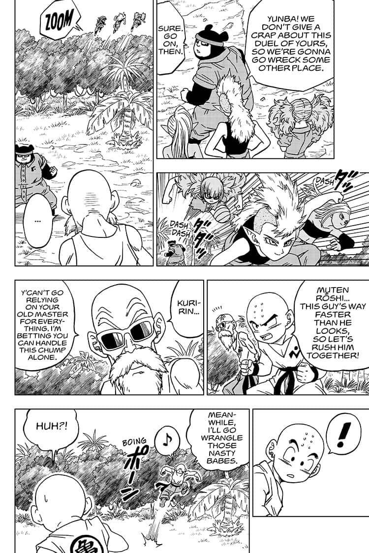Dragon Ball Super Chapter 56  Online Free Manga Read Image 16
