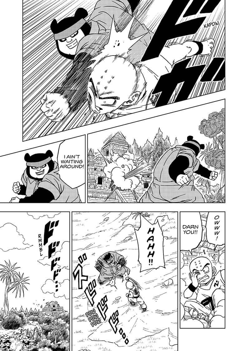 Dragon Ball Super Chapter 56  Online Free Manga Read Image 17