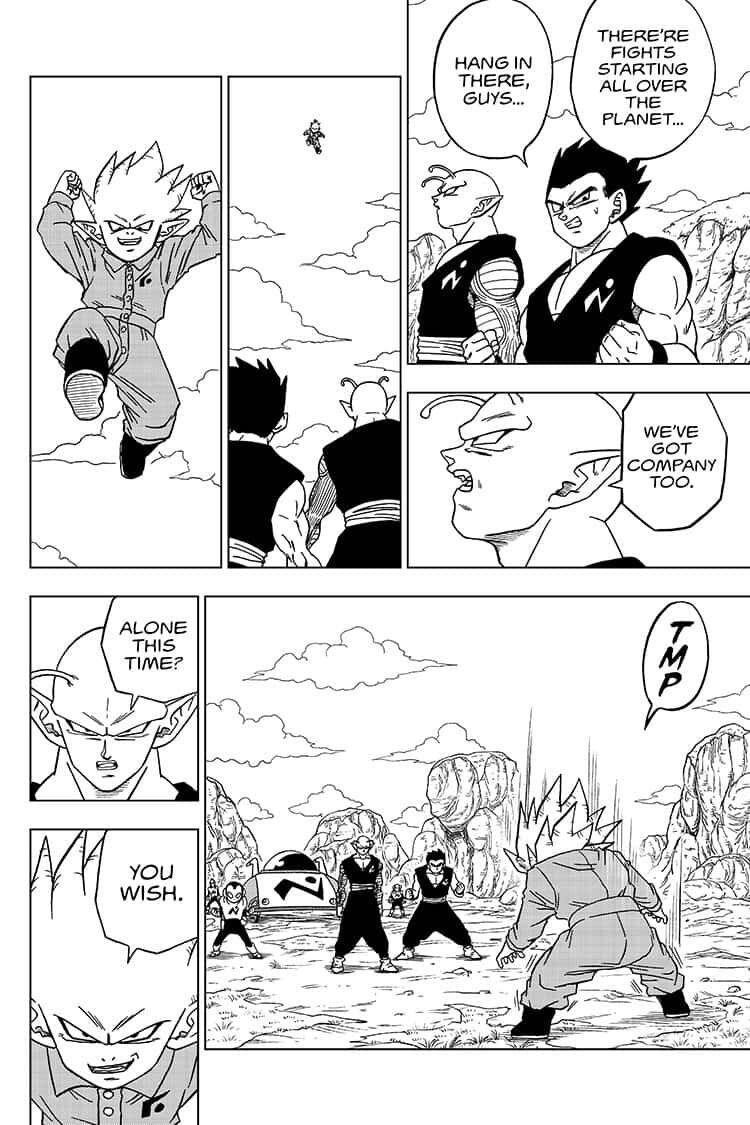 Dragon Ball Super Chapter 56  Online Free Manga Read Image 18