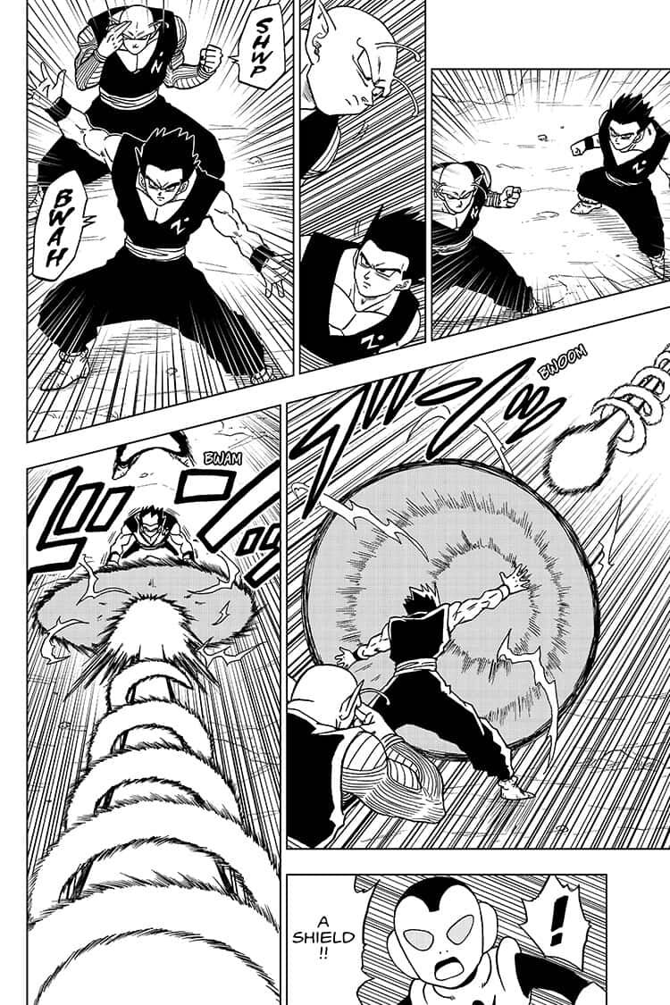 Dragon Ball Super Chapter 56  Online Free Manga Read Image 22