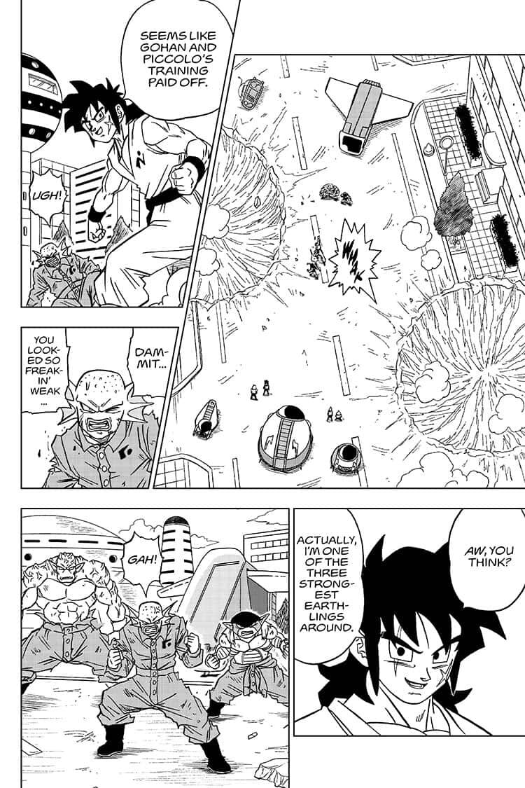 Dragon Ball Super Chapter 56  Online Free Manga Read Image 34
