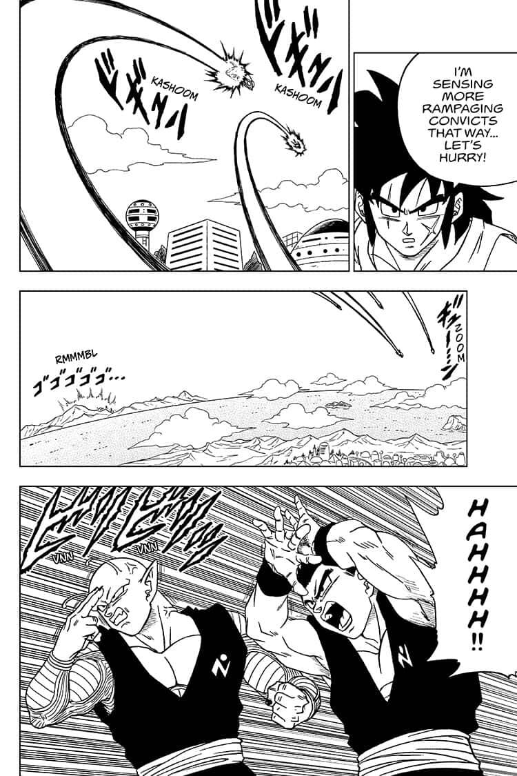 Dragon Ball Super Chapter 56  Online Free Manga Read Image 36