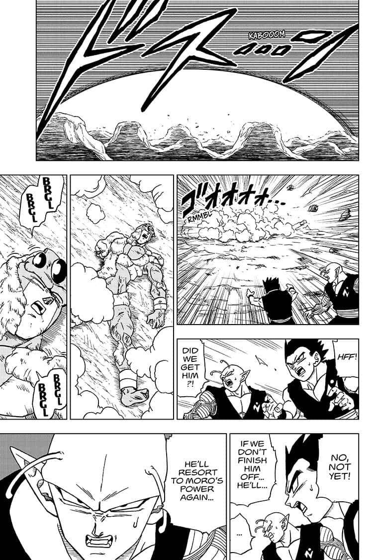 Dragon Ball Super Chapter 56  Online Free Manga Read Image 39