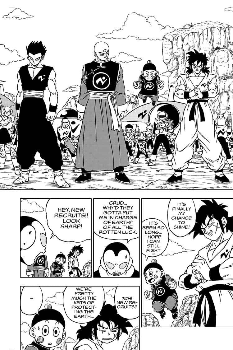 Dragon Ball Super Chapter 56  Online Free Manga Read Image 4