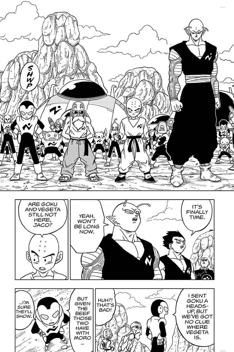 Dragon Ball Super Chapter 56  Online Free Manga Read Image 5