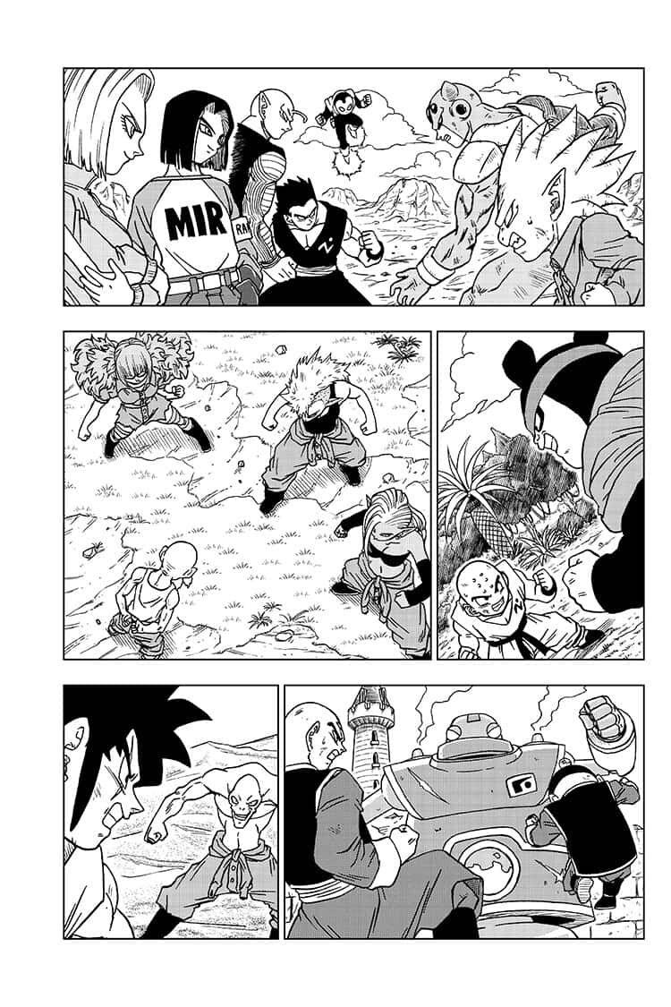 Dragon Ball Super Chapter 57  Online Free Manga Read Image 1
