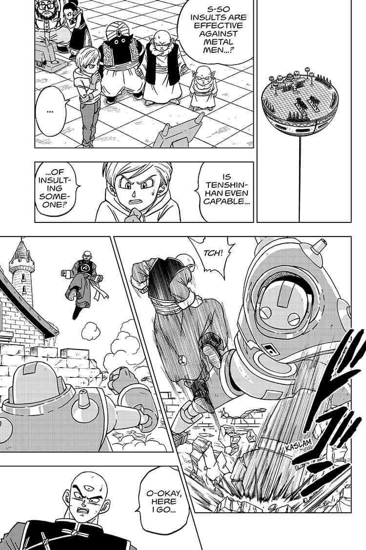 Dragon Ball Super Chapter 57  Online Free Manga Read Image 15