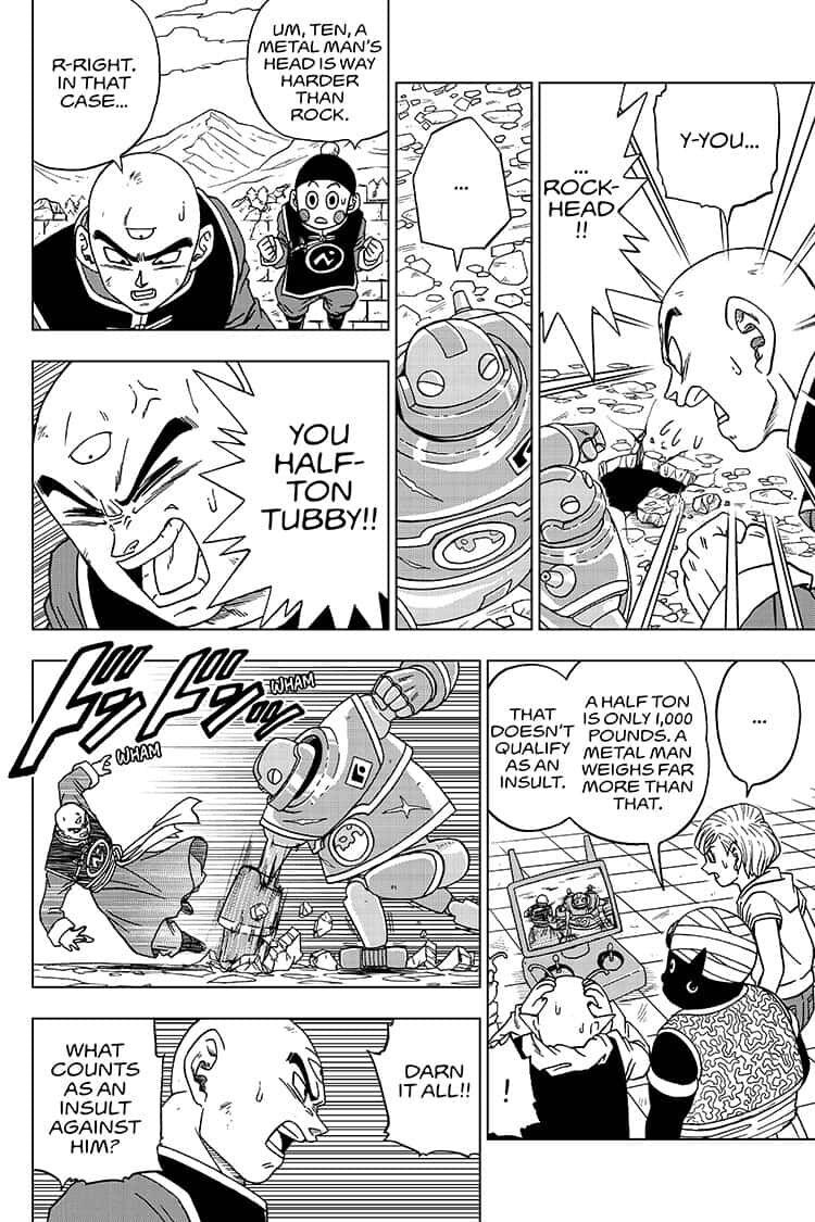 Dragon Ball Super Chapter 57  Online Free Manga Read Image 16