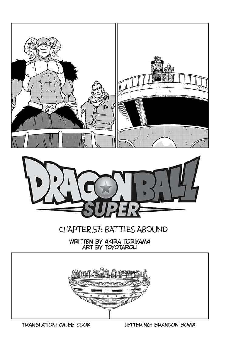 Dragon Ball Super Chapter 57  Online Free Manga Read Image 2